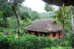 the traditional house of ethnic groups in northern Vietnam